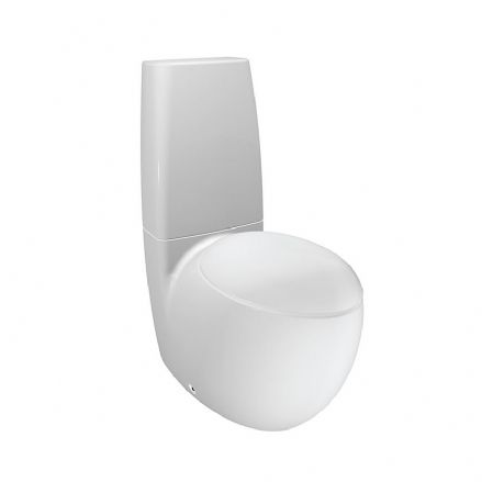 822976 - Laufen Alessi One Floorstanding Close Coupled WC / Toilet - 8.2297.6